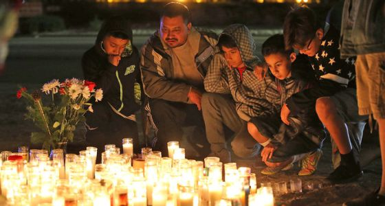 Homenaje a las víctimas de San Bernardino.