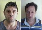 Los sicarios fugados de Argentina balean a dos policías en un retén