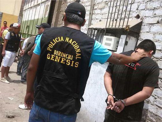 Detenciones en El Callao, Perú