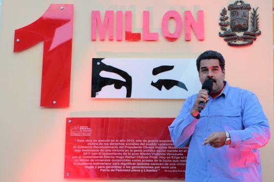 Maduro, en una foto cedida por el Gobierno
