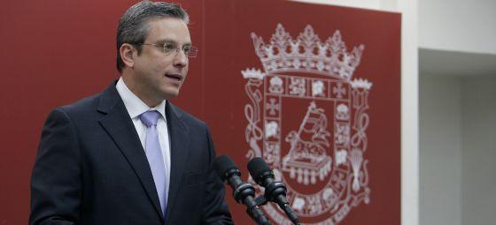 El gobernador de Puerto Rico, Alejandro García Padilla, en la rueda de prensa del pasado 30 de diciembre, en San Juan.
