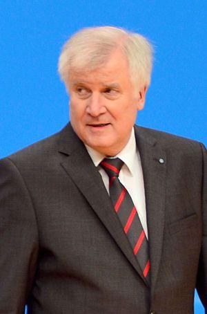 El líder de la CSU y presidente de Baviera, Horst Seehofer.