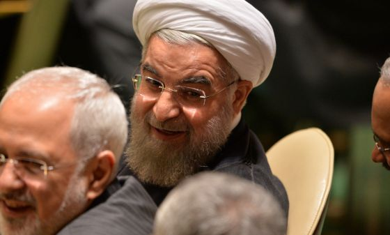El presidente de Irán, el pasado septiembre en Nueva York.