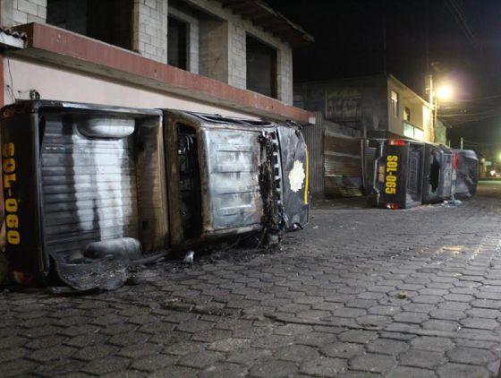 Disturbios en Santiago de Atitlán, Guatemala
