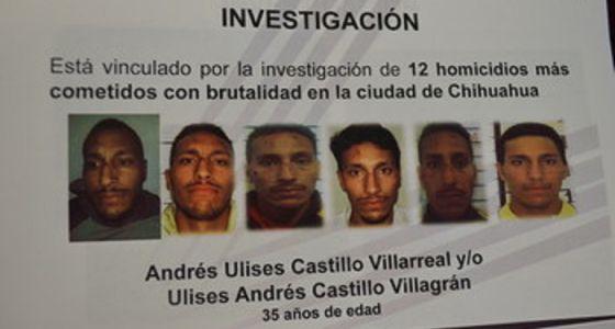 El detenido por los homicidios, Andrés Ulises Castillo
