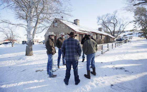 Los rancheros protagonistas de la ocupación en Oregón.