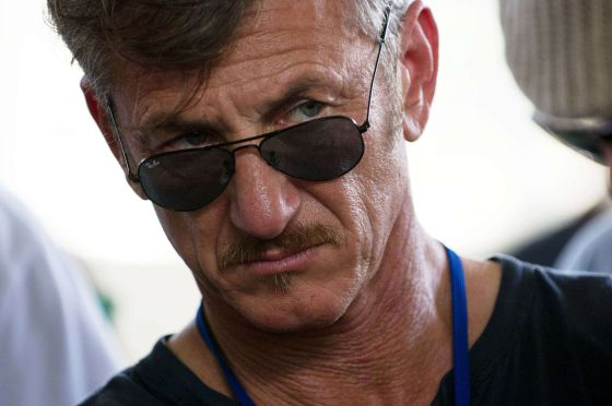 El actor Sean Penn