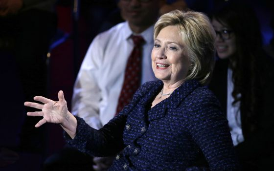 La candidata demócrata Hillary Clinton.