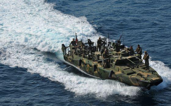 Imagen de archivo del tipo de barco estadounidense retenido