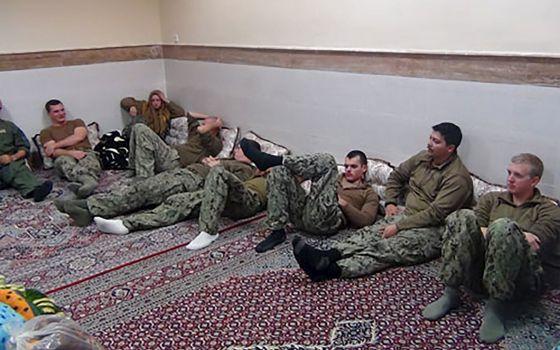 Los marines estadounidenses retenidos en Irán