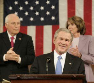 Bush, en su último discurso del estado de la Unión