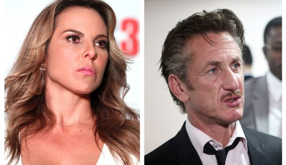 Kate del Castillo y Sean Penn