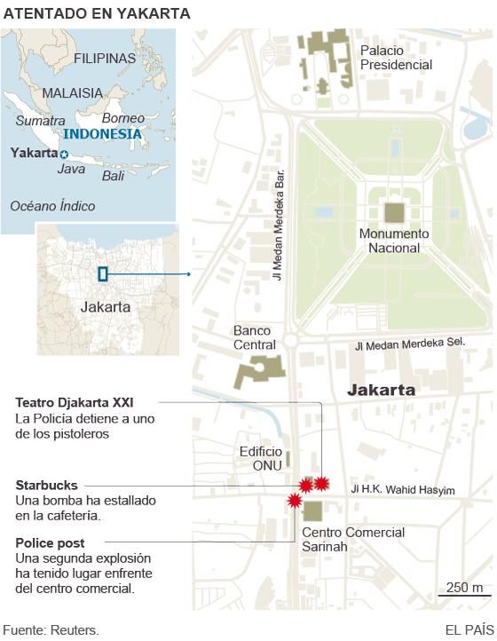 El ISIS suma Indonesia a su expansión internacional