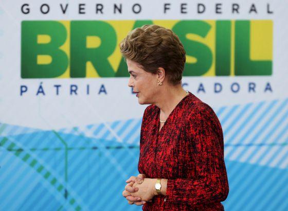 Dilma Rousseff en Brasilia