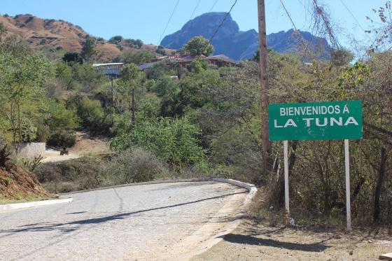 La Tuna, Badiraguato, lugar de nacimiento del capo