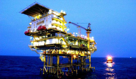 Una instalación petrolífera. EFEArchivo