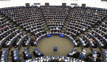 El pleno de la Eurocámara en Estrasburgo (Francia).