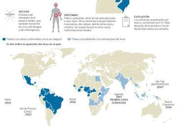 Colombia espera más de 600.000 casos por la epidemia del virus del zika