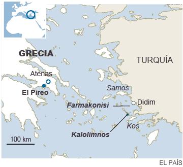 Los naufragios mortales y el frío no detienen el flujo de refugiados