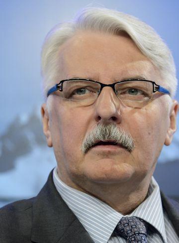 Witold Waszczykowski, ministro de Exteriores polaco.
