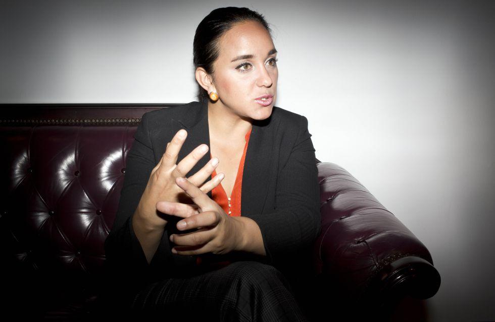 Gabriela Rivadeneira, presidenta de la Asamblea Nacional de Ecuador.
