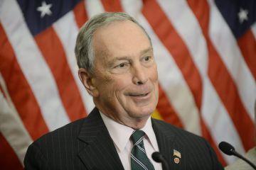 Michael Bloomberg, en 2012 aún como alcalde de Nueva York.