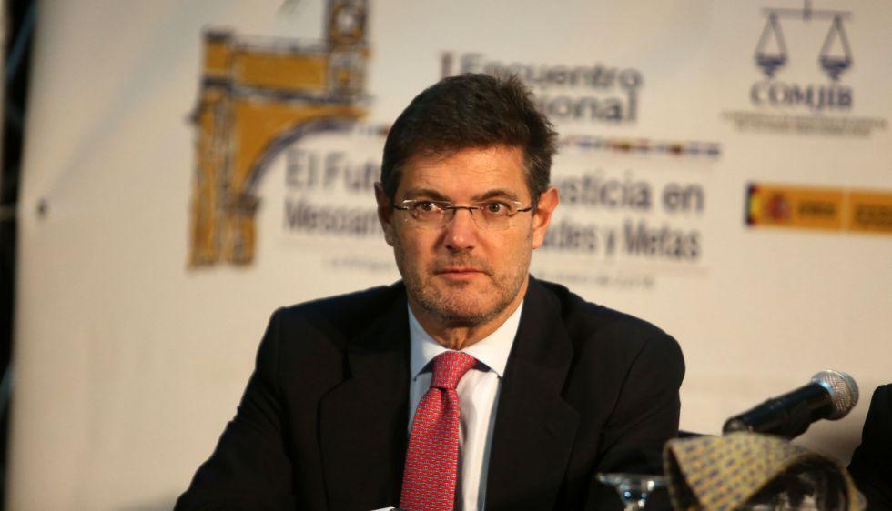 Rafael Catalá, ministro de Justicia de España