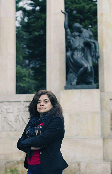 Odilia León, en Bogotá.