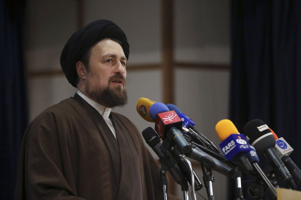 Hasan Jomeini, nieto del ayatolá