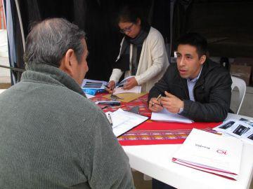 Brigadas anticorrupción en Lima, Perú.