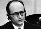 Adolf Eichmann, ante el tribunal, el 11 de abril de 1961.