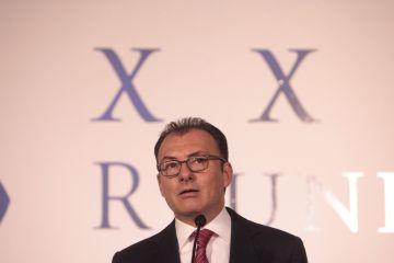 El secretario de Hacienda de México, Luis Videgaray