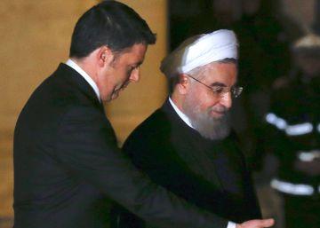 Hollande y Rohani suscriben millonarios acuerdos entre Francia e Irán