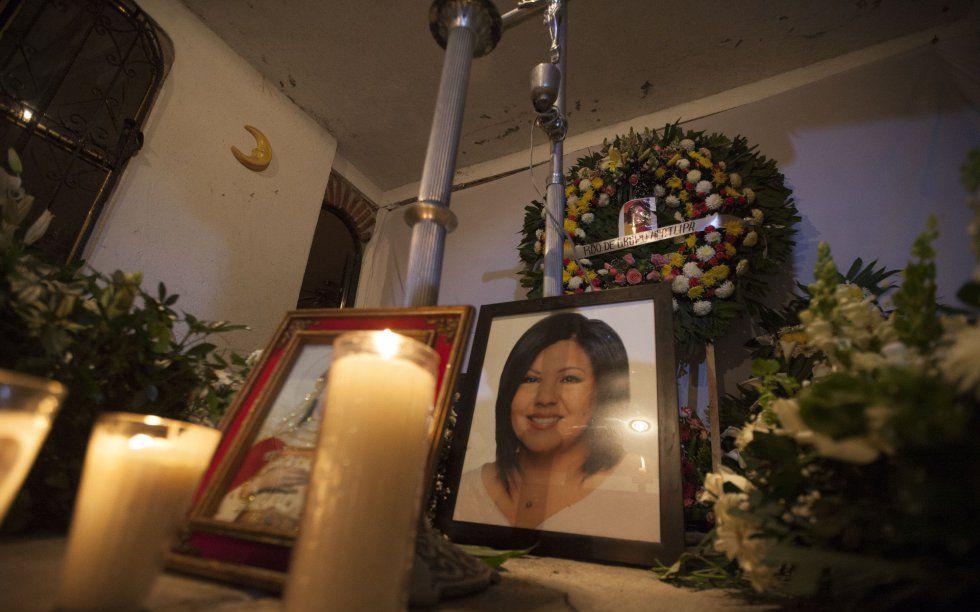 Funeral de Gisela Mota