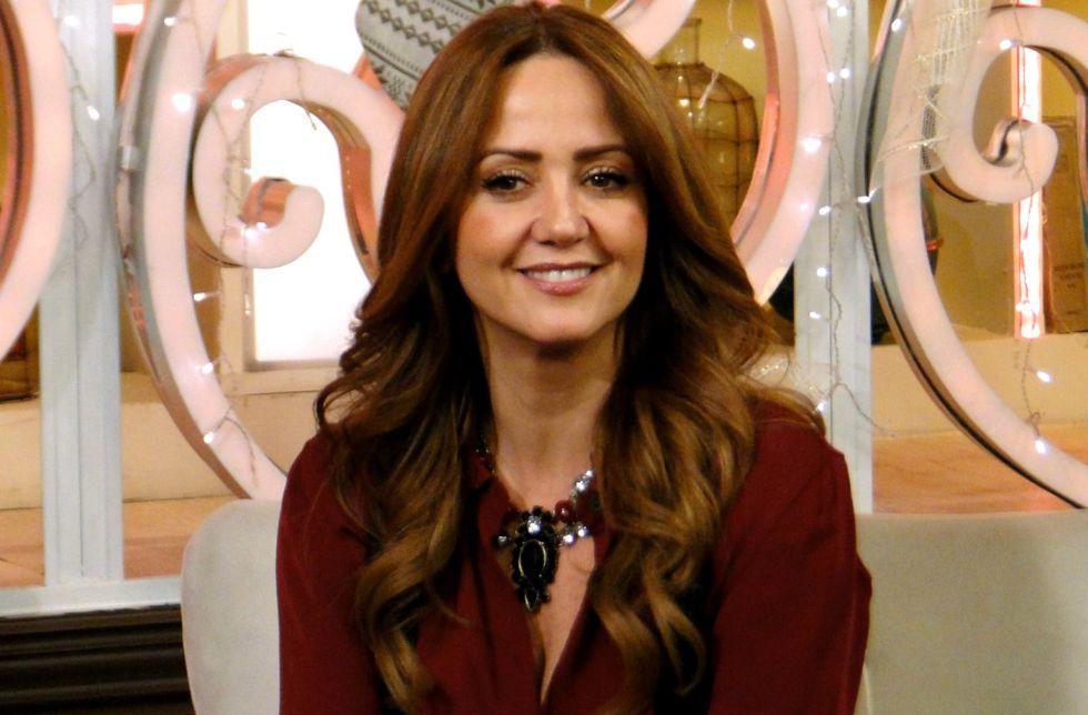 Andrea Legarreta, presentadora de 'Hoy'.