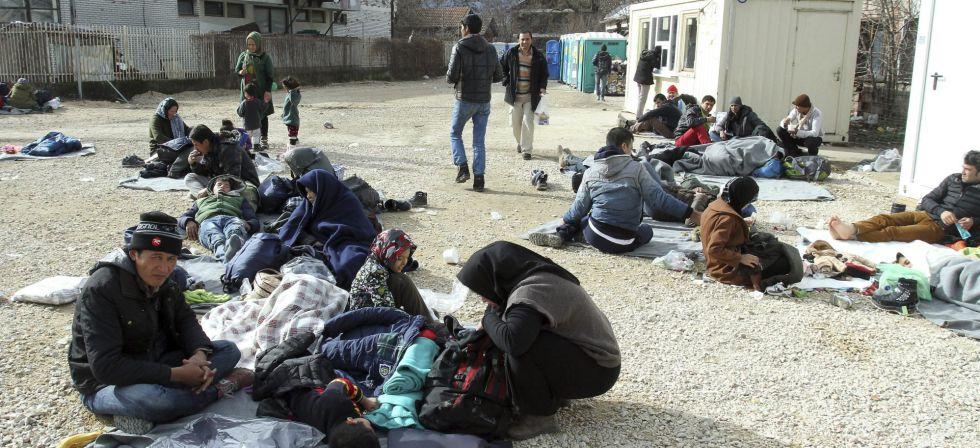 Refugiados sirios, iraquíes y afganos en Serbia