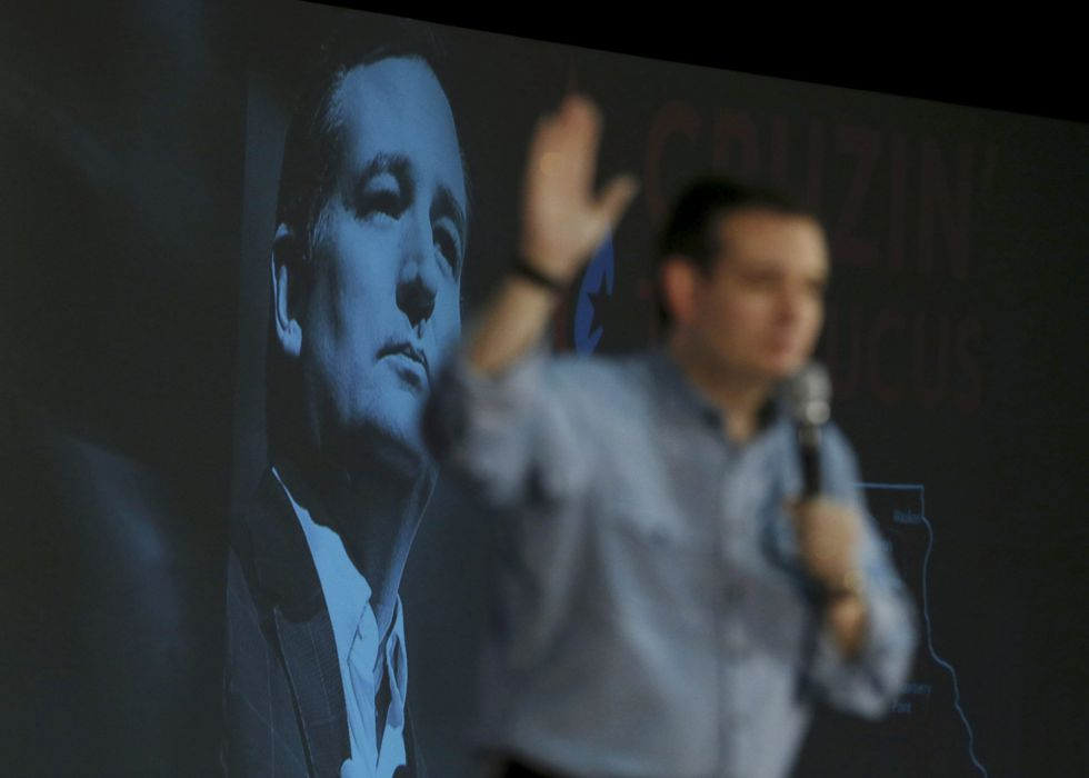 El senador republicano Ted Cruz.