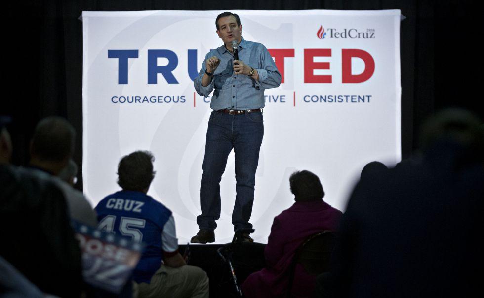 El candidato Ted Cruz es el único que ha visitado los 99 condados de Iowa