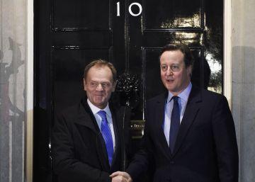 Cameron apoya permanecer en la UE con la propuesta de Tusk