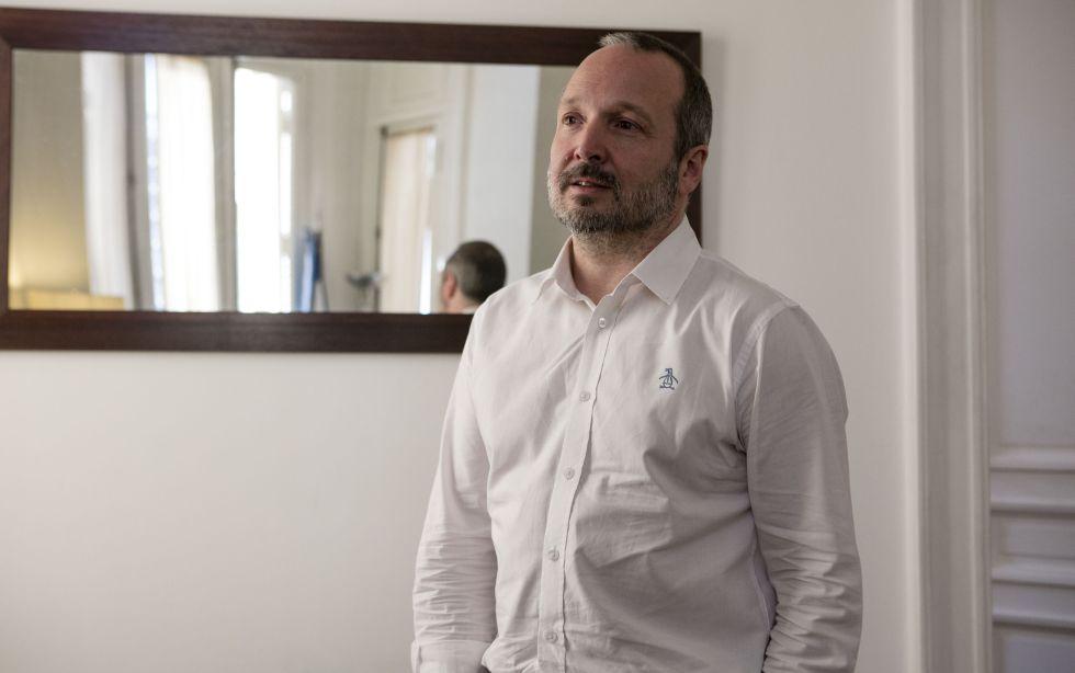 Martín Sabbatella, durante la entrevista con EL PAÍS.