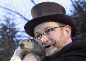 La marmota Phil 'predice' que la primavera está a la vuelta de la esquina