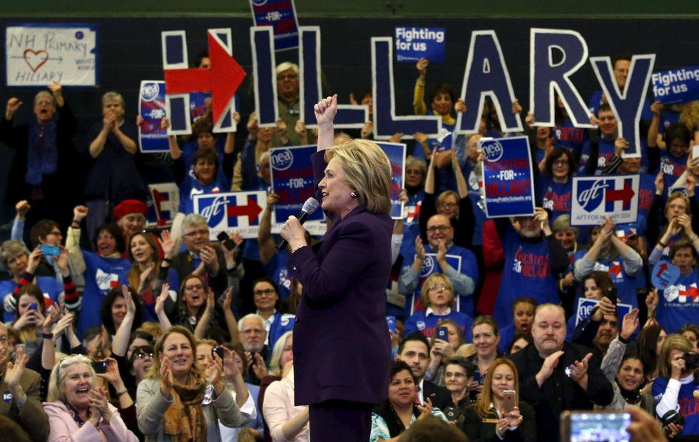 Hillary Clinton gana en el caucus de Iowa