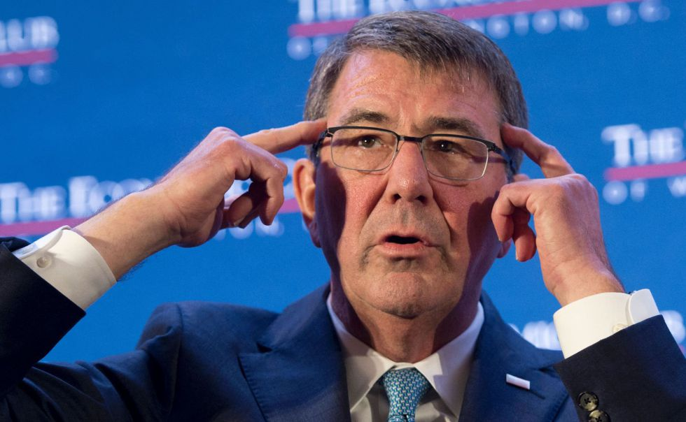 El secretario de Defensa de EE UU, Ashton Carter