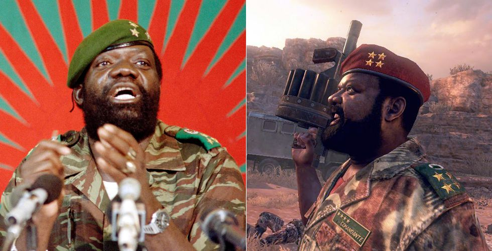 Call of Duty Jonas Savimbi