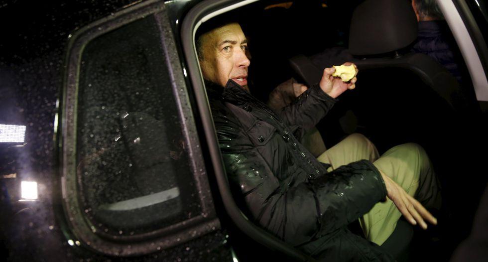 Humberto Moreira abandona la prisión madrileña de Soto del Real el pasado 22 de enero.