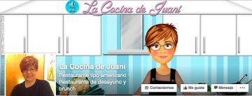 Página de recetas de Juana Martínez.