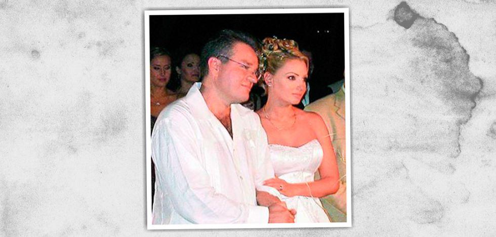 La boda entre José Alberto Castro Alva y Angélica Rivera