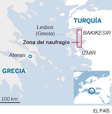 Más de una veintena de muertos en un nuevo naufragio frente a Turquía