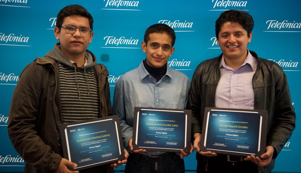 Ganadores del premio Etecom Latam