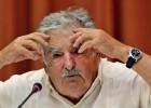 José Mujica durante una conferencia en La Habana, Cuba.